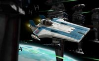 Star War Resistance A-Wing Fighter, B - Image 1