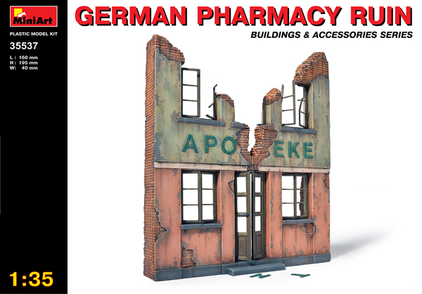 German Pharmacy Ruin - Image 1