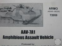 APC AAVT-7A1  Amphiobus Assault Vehicle
