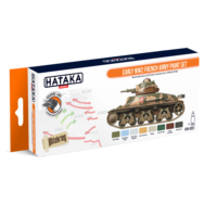 HTK-CS21 Early WW2 French Army paint set