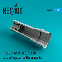 F-104 Starfighter (S/G Late) exhaust nozzle for Hasegawa Kit - Image 1