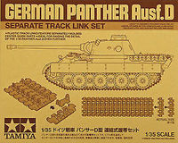 German Panther Ausf.D - Separate track link set