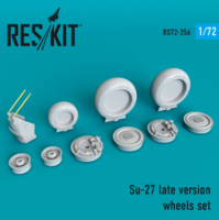 Su-27 late version wheels set late version