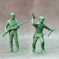 American scouts, set of two figures #1 - Image 1