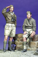 British Armoured Crew Set (2 figs & Puppy) - Image 1