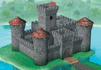 Medieval stone castle - Image 1