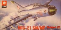 Mikoyan Guryewitz Mig-21 SM/MF Fishbed J/K (Polish Air Force)