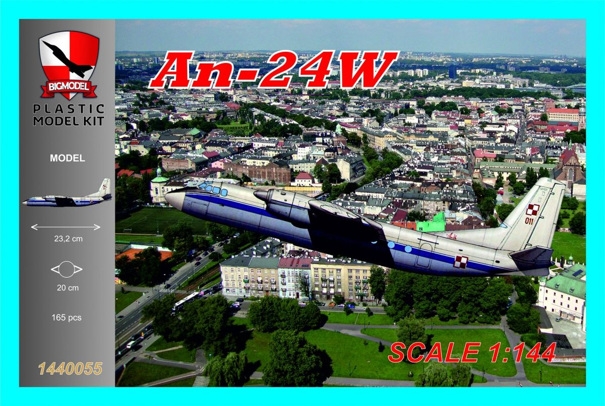 An-24W Polish Air Force - Image 1