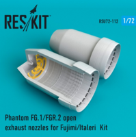 Phantom FG.1/FGR.2 open exhaust nozzles for Fujimi/Italeri  Kit - Image 1