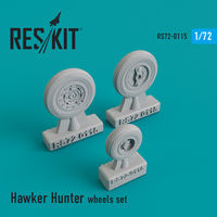 Hawker Hunter wheels set - Image 1