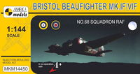 Bristol Beaufighter Mk.IF/VIF No.68 Sq. RAF