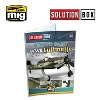 HOW TO PAINT WWII LUFTWAFFE LATE FIGHTERS - SOLUTION BOOK (Multilingual)