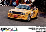1446 Camel Yellow for BMW M3 E30 - El Corte Ingles Rally