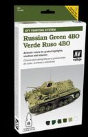78403 AFV Painting System - Russian Green 4BO Set