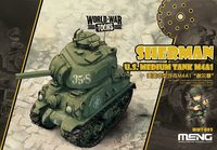 World War Toons -  U.S. Medium Tank M4A1 Sherman