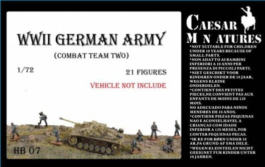 WWII Germans Army Combat Team Two - Image 1