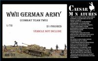 WWII Germans Army Combat Team Two