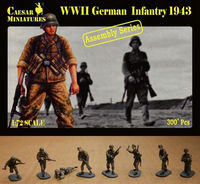 German Infantry 1943 (ASSEMBLY SERIES)