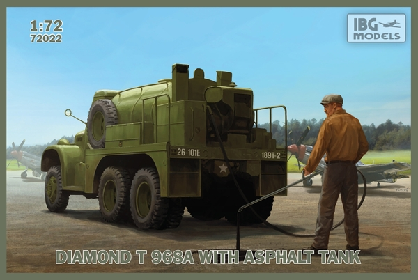 Diamond T 968A with Asphalt Tank - Image 1
