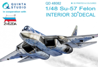 Su-57 3D-Printed & coloured Interior on decal paper - Image 1