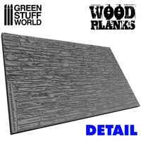 Wood Planks Rolling pin