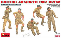 BRITISH ARMORED CAR CREW - Image 1