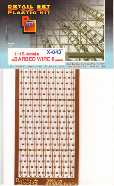 Barbed wire II - 1/16 scale - Image 1