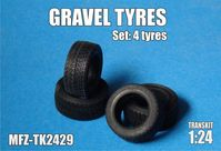 Gravel tyres 4 pieces - Image 1